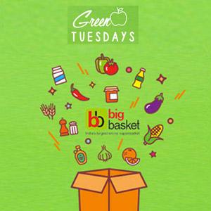 Green Tuesdays- Get 25% OFF!