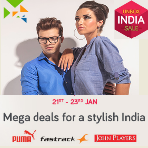 Mega Deals for Stylish India with extra 15% discount on HDFC Credit Cards