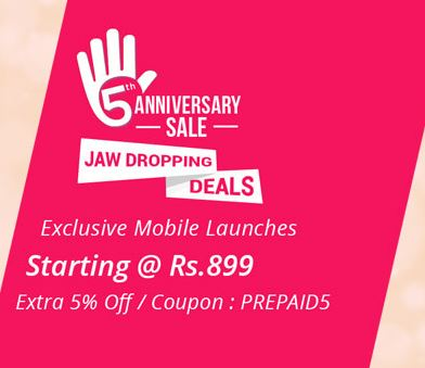 Exclusive Mobiles Starts @Rs.899