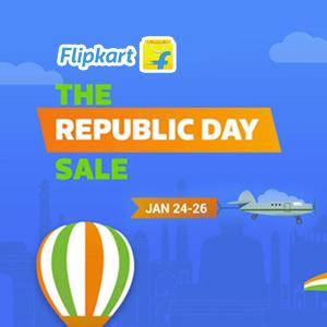The Republic Day Sale 24th - 26th Jan'17 @Flipkart
