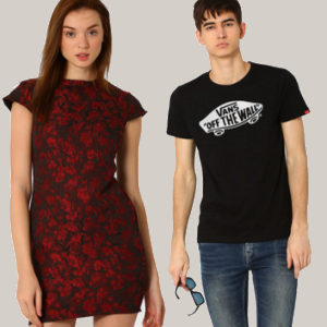 Flat 60% off on Men & Women's Fashion