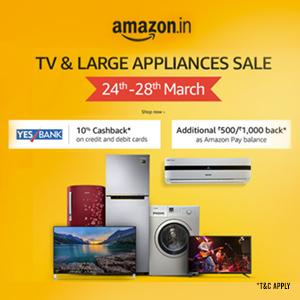 TV & Large Appliances Sale- Extra 10% OFF!
