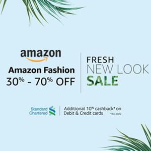 Upto 70% OFF: Amazon Fashion New Look Sale