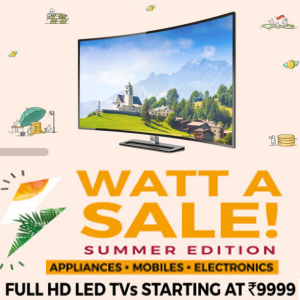 Full HD LED TV starting Rs.9999 on tatacliq
