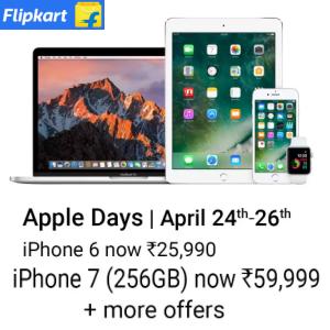 Apple MacBook, Phone, Headphone, iPad and more upto 44% off + Exchange @flipkart
